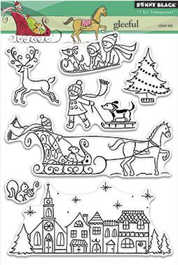 New Penny Black Winter Wonderland stamp collection now in stock at Crafts U Love http://www.craftsulove.co.uk/pennyblack.htm#553