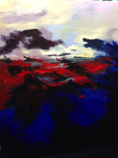 juliette binoche paintings -