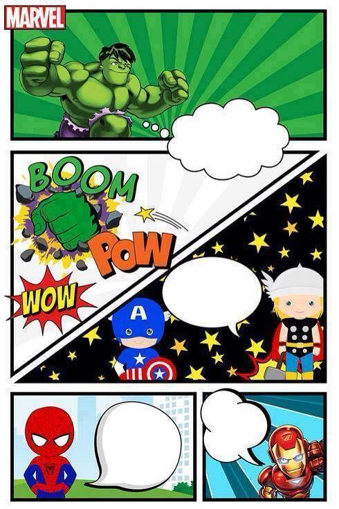 Convite super heróis                                                                                                                                                     Mais