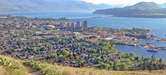 Image result for Kelowna and the bridge connecting it to West Kelowna or Westside