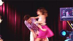 #Violetta2 #Leonetta Dancing scene gif!