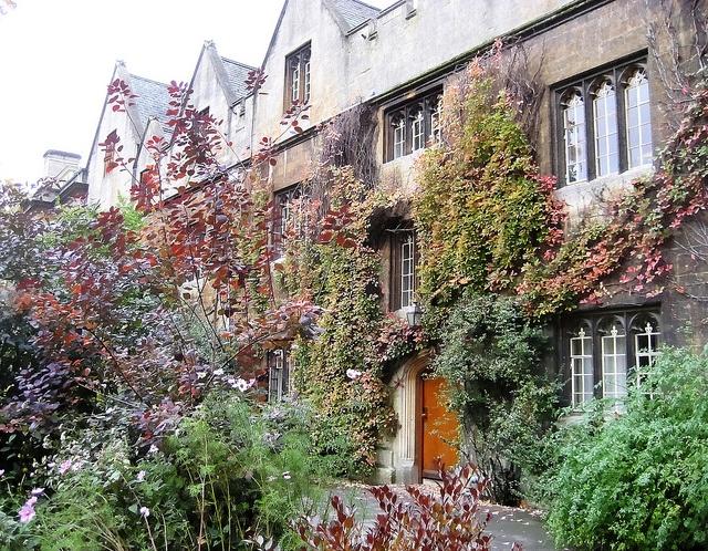 Balliol College in Autumn by Baz Richardson, via Flickr