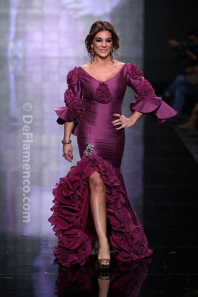 Fotografías Moda Flamenca - Simof 2014 - Gitano 'Flores en el aire' Simof 2014 - Foto 13