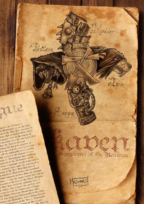 Skaven:The Kingdoms of the Ratmen by Manuel Mesones