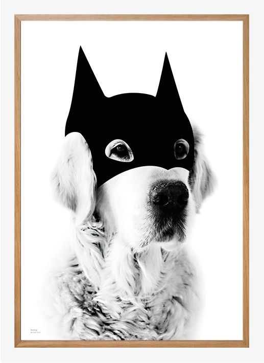 Batdog by My Deer | Poster from theposterclub.com