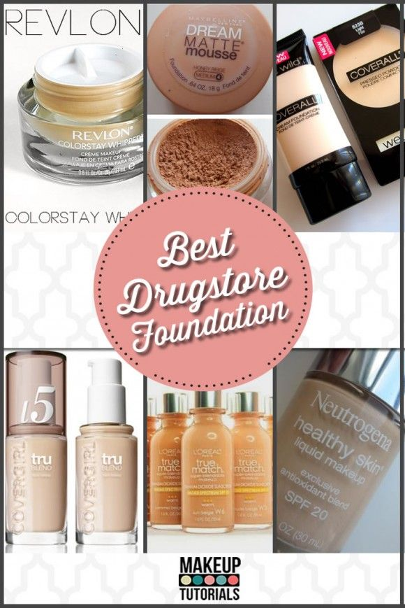 Best Drugstore Foundation | Best beauty products and product reviews at Makeup Tutorials | #makeuptutorials | makeuptutorials.com