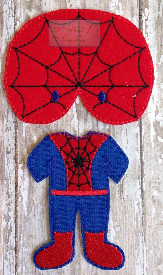 Spiderman: Muñeca fieltro Spiderman traje por NettiesNeedlesToo - Visit to grab an amazing super hero shirt now on sale