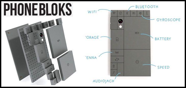 PhoneBloks : un téléphone évolutif et adaptable !  @IndependenceGeek