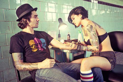 : Short Hair, Tattoo Artists, Tattoo Artest, Inkedup Sweet, Body Art, A Tattoo, Tattoo Girls, Tattoos Girls