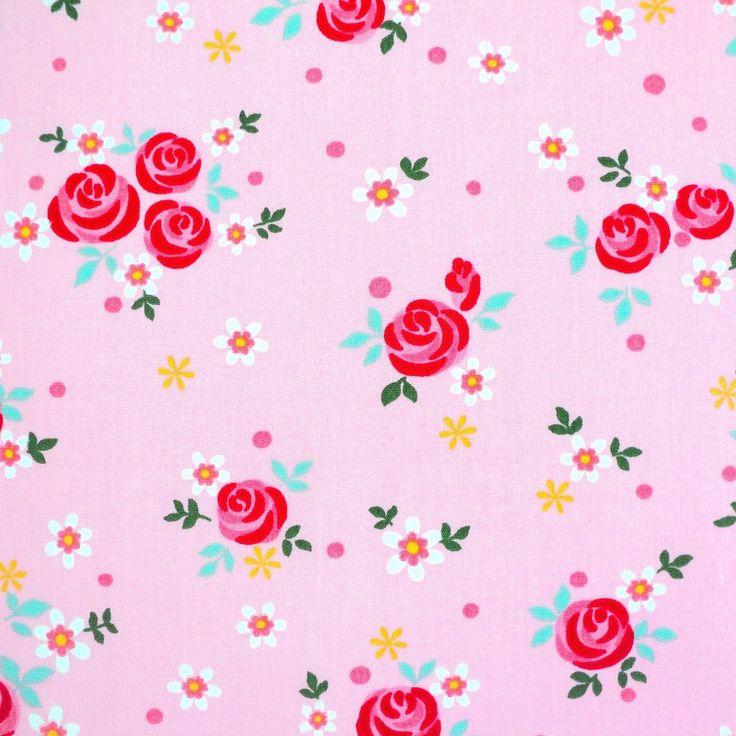 Dolly Rose - Modern Floral - Pink