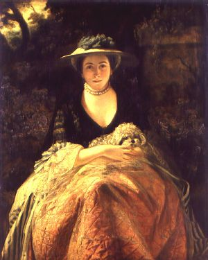 Nelly O'Brien - Joshua Reynolds  After a brief career as an actress, Nelly O'Brien became the mistress of several prominent men including the Earl of Thanet and Viscount Bolingbroke, to whom she was rumoured to have borne sons