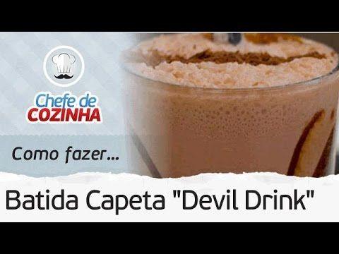 Como fazer Batida Capeta (Devil Drink)   Receita Chef Alex Granig - YouTube