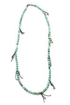 Chrysoprase Gemstone Necklace