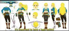 Princess Zelda  Breath of The Wild