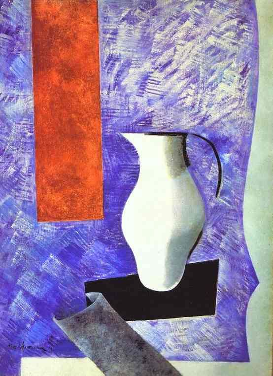 Still Life with a White Jug - Nathan Altman, 1919