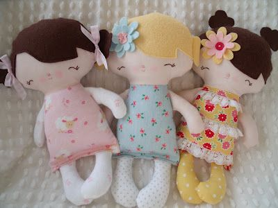 Cute little ruby lou dolls: Clothing Dolls, Crafts Ideas, Dolls Dolls, Dolls Awesome, Handmade Dolls, Awesome Pin, Felt Hair, Favorite Pin, Rag Dolls Crafts