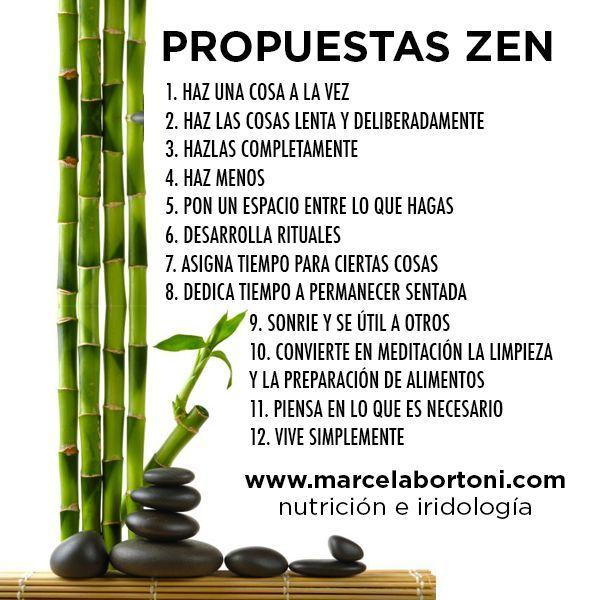 Propuestas zen, para tener una vida más tranquila. Hábitos para ser exitosa.