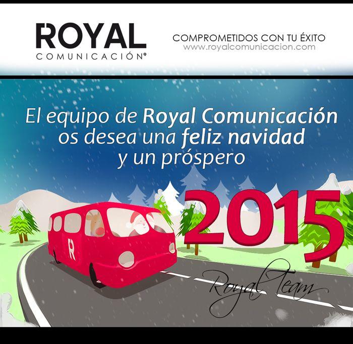 Nuestros mejores deseos en estas fechas  http://www.royalcomunicacion.com/  #Navidad #RoyalComunicacion