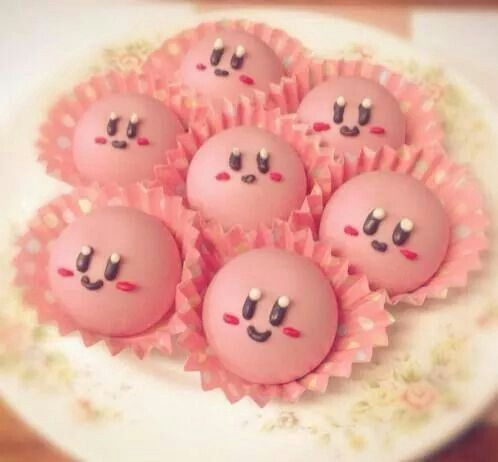 I know this is Kirby, but they're still VERY cute