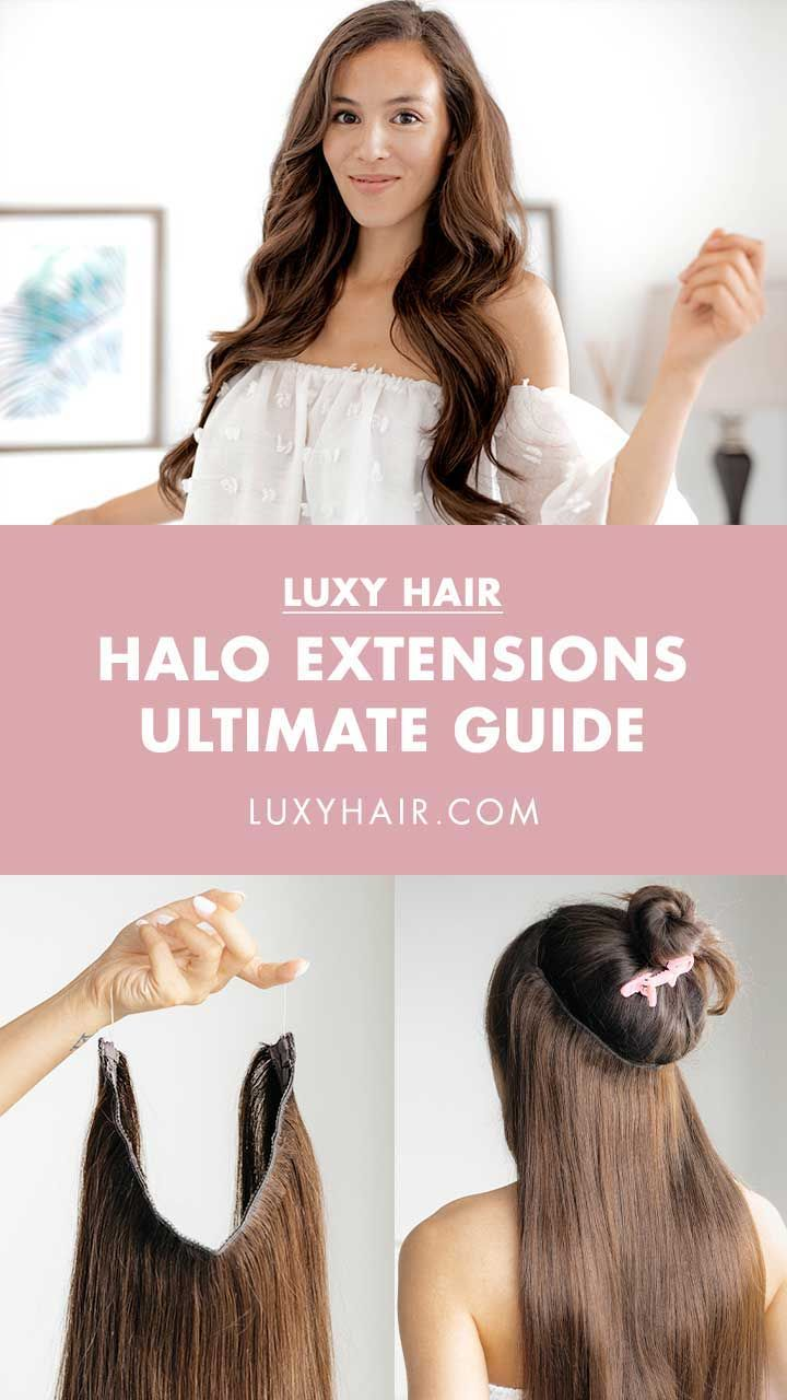What are Halo® Hair Extensions? All your questions answered