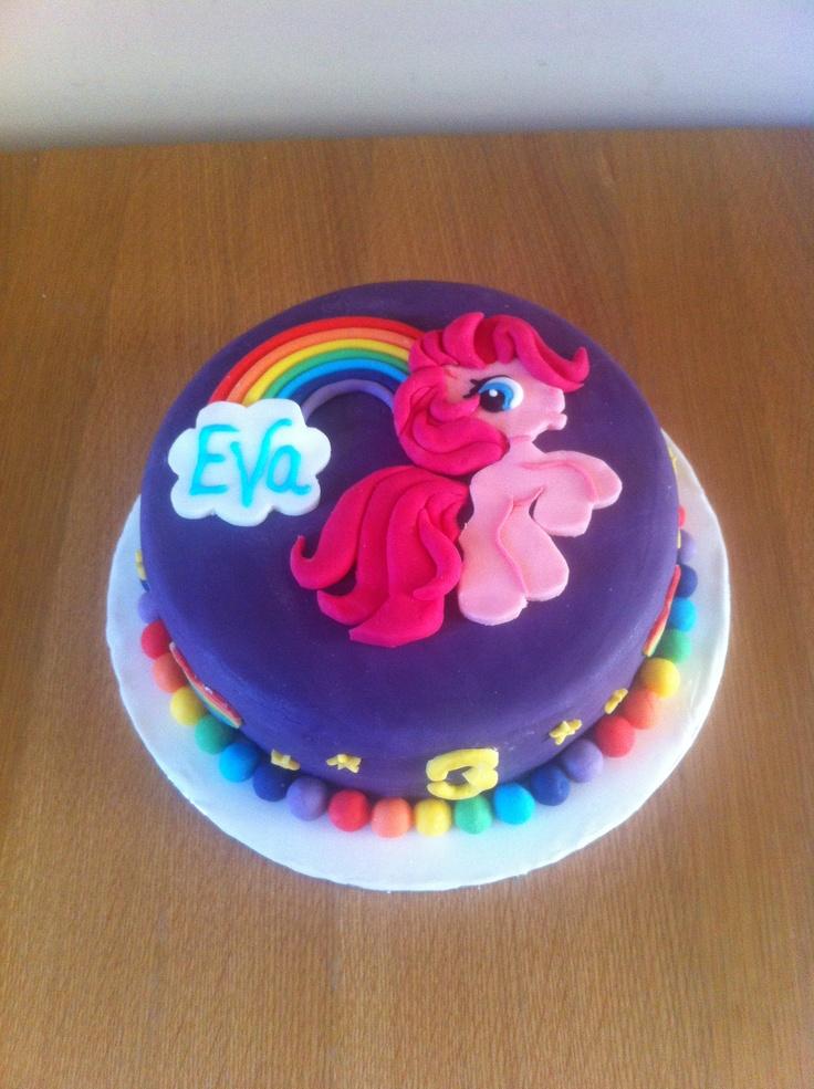 My Little Pony CakeMy Little Pony's Party! // rainbow dash birthday party // my little pony birthday party  My Little Pony Birthday Party girl cake my little pony mlp pink blue