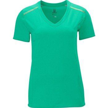 Bild von Salomon Park Tee W Damen-Laufshirt - popsicle green