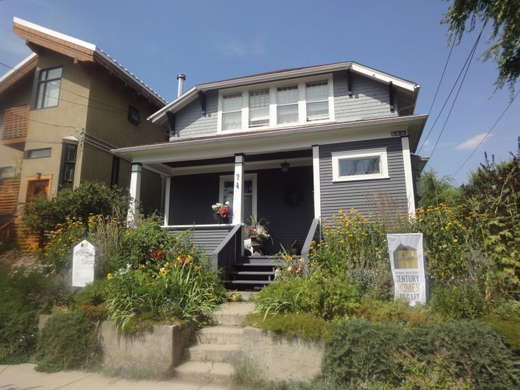 """Inglewood-74 New Street SE Calgary... Built in 1908 for $3783. """"It is a wonderful home, and if the house has ghosts they are friendly spirits. The house was featured in a Hollywood film called """"Finders Keepers"""" (1985)"""" (info: Century Homes Calgary website)"""