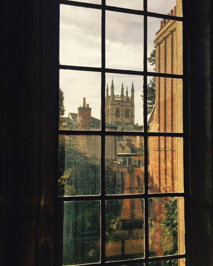 A library view of Oxford