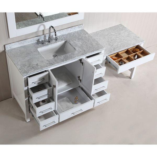 25 best ideas about single sink vanity on pinterest large dressing table stools makeup. Black Bedroom Furniture Sets. Home Design Ideas