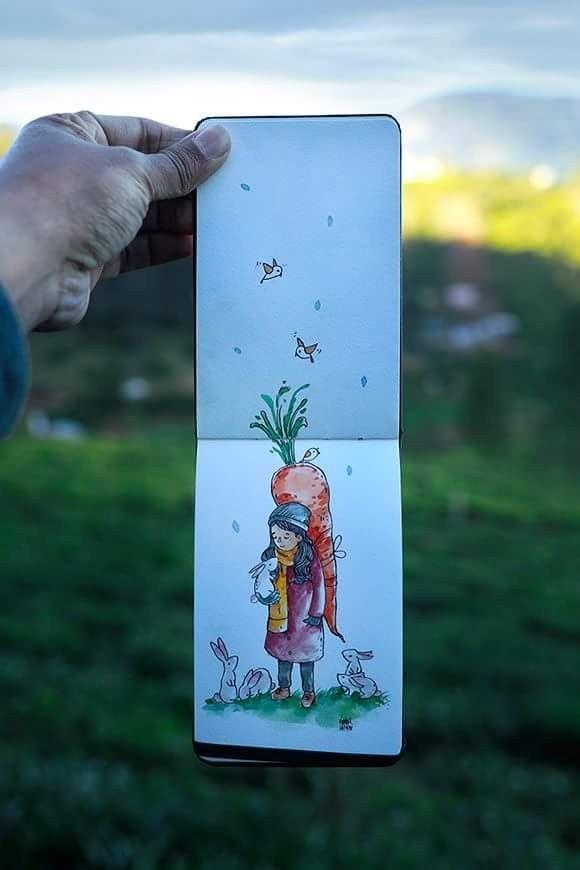 Sketches Colors En 2019 Dessin Dessin Aquarelle Et Crayons