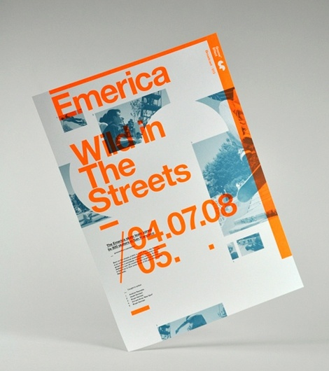 "Brochure for Emerica (skate company).    Helvetica being both ""corporate"" AND ""urban/street"" here."