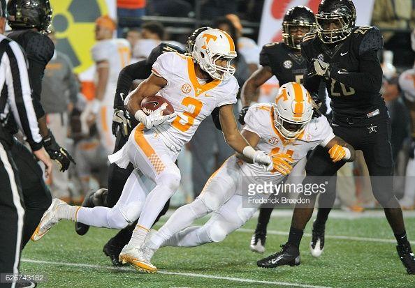 News Photo : Josh Malone of the University of Tennessee...