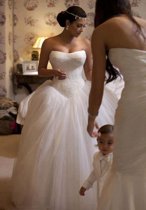 Inside Kim Kardashian's fairytale wedding to Kris Humphries: the ceremony