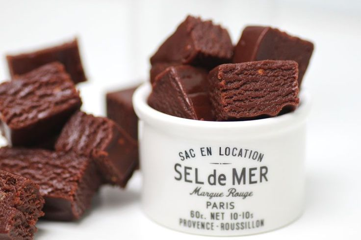 Chokladkolafudge