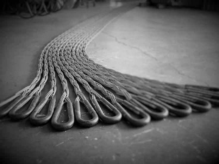 Chock winch ropes