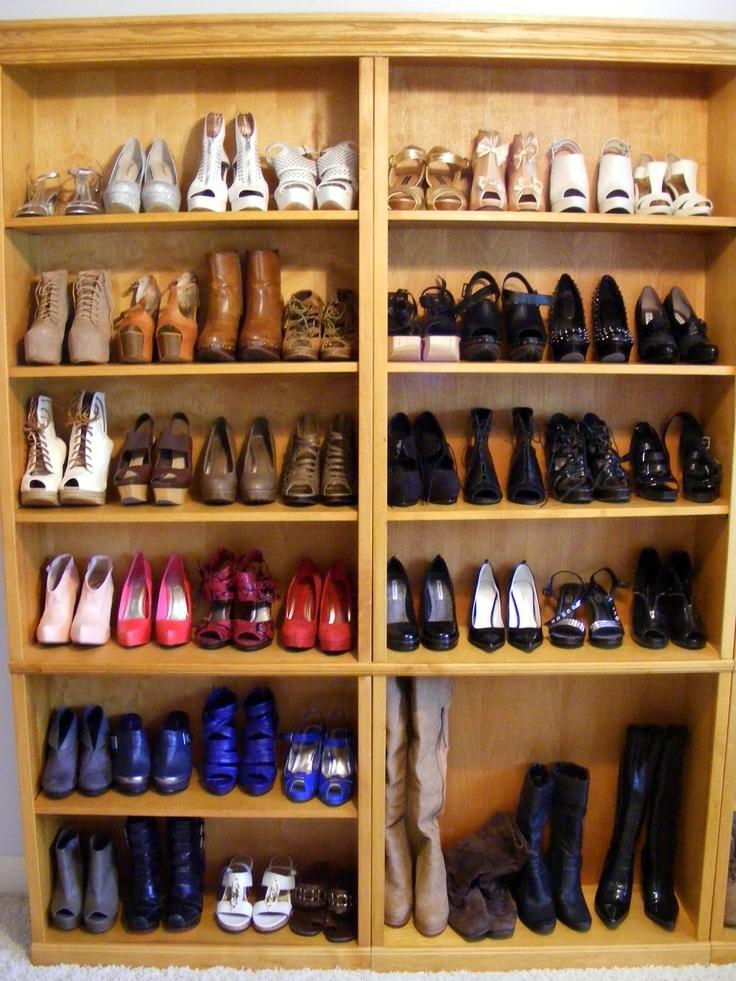 My shoe closetshelves 23 best Sexy Shoe