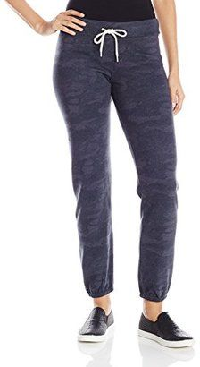 Monrow Women's Camo Print Sweatpants - Shop for women's Pants - Blue Clay Pants
