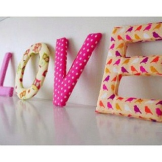 17 best ideas about fabric covered letters on pinterest fabric letters nursery letters and twine letters