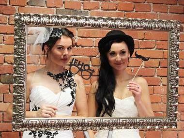 fotorekvizity na svatebním veletrhu