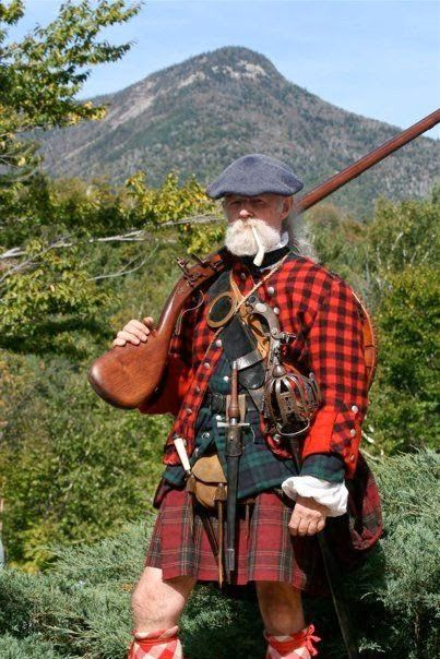 A Woodsrunner's Diary: Early To Mid 18th Century Male Scottish Clothing.