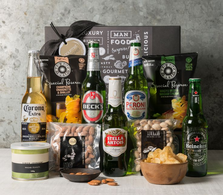 Who said that it's hard to buy gifts for guys? Gourmet Basket's International Beer Gift Hamper is definitely the best gift for big boys on any occasion!