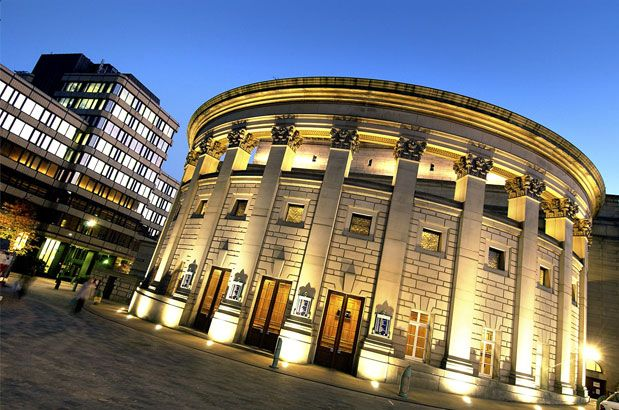 Sheffield City Hall - the venue for the Spencers Christmas do this year!