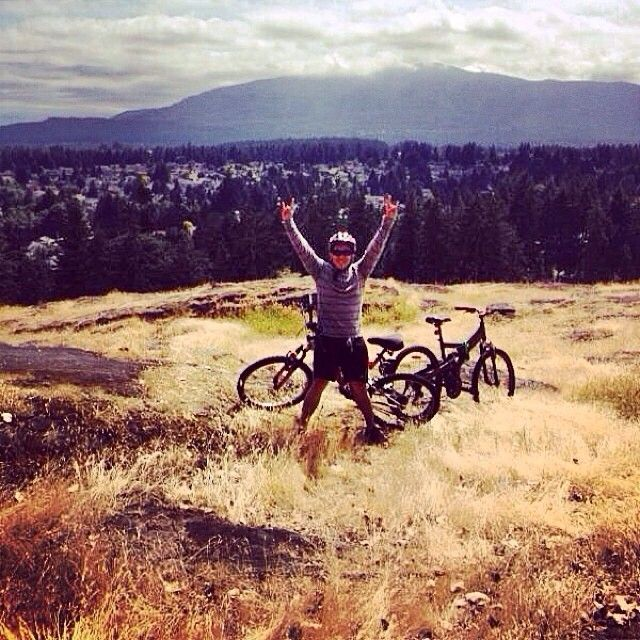 Not a bad view for a bike ride from our instagram fan @_rodrcnal_  #ExploreNanaimo #ExploreBC