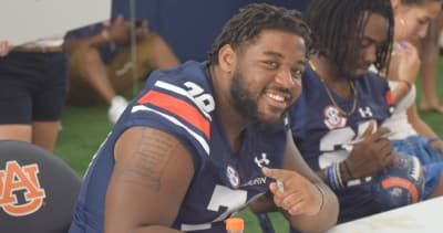 Auburn football hasnt decided if OT Darius James will return to starting lineup against Mississippi State