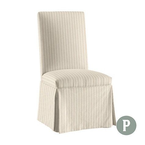 Ballard Essential Parsons Chair Slipcover Chair Slipcovers Chairs And Pars