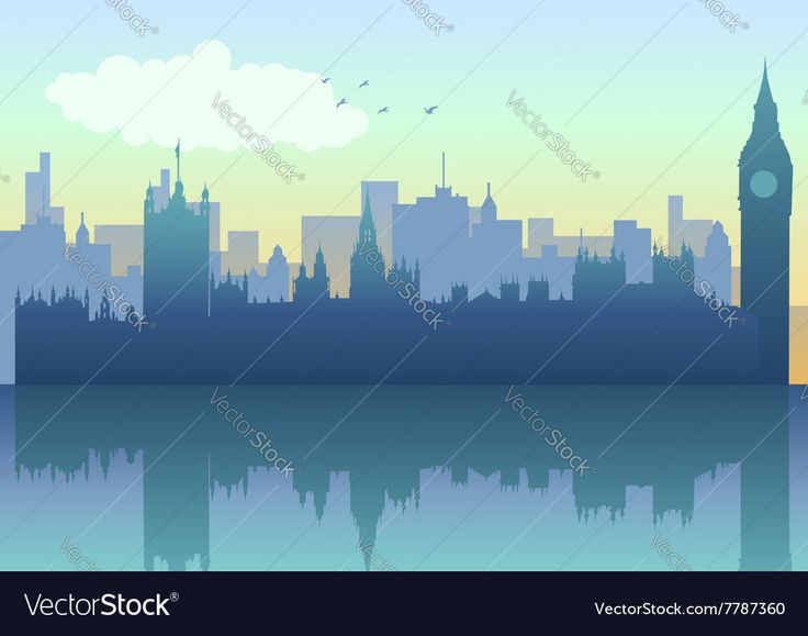London Cityscape Vector Image by rudall30