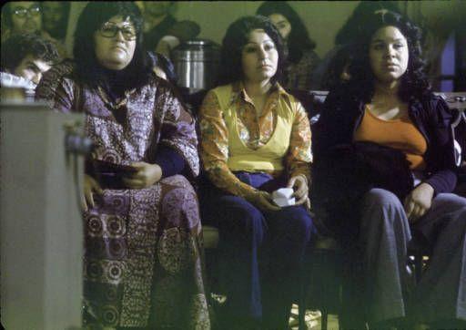 Audience at the Festival de Flor y Canto, Los Angeles, 1973 :: Festival de Flor y Canto de Aztlan, Films and Photographs, 1973