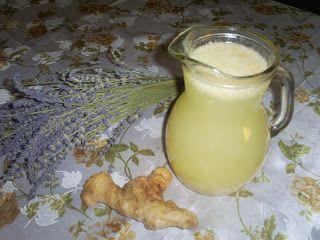 Retete cu margareta cismasiu: Limonada cu ghimbir