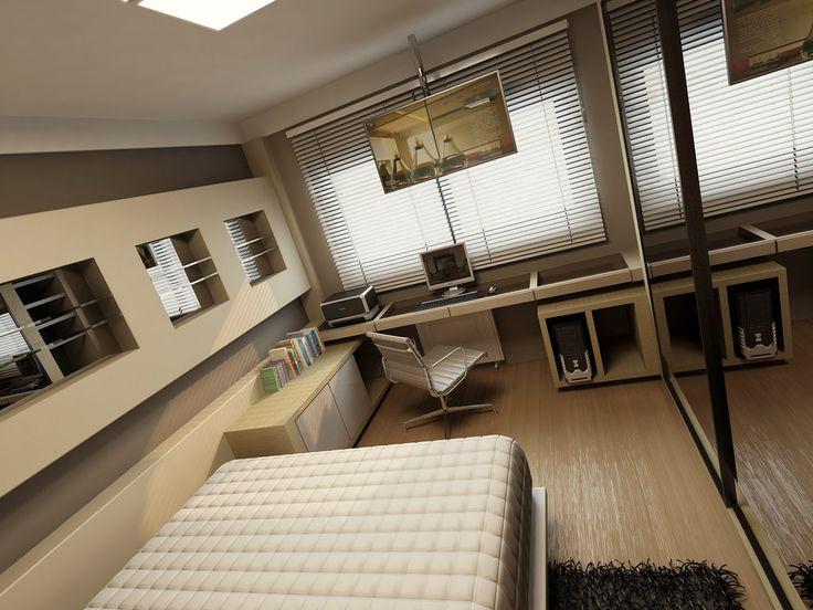 modern home office desk | home design | pinterest
