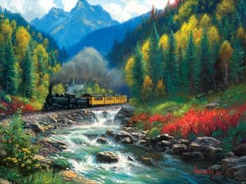 The Passage - 1000pc Jigsaw Puzzle by Cobble Hill (discon